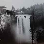 First large hydroelectric plant at Snoqualmie Falls